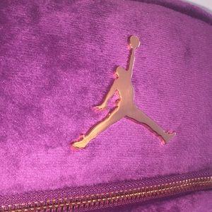 7d746050671d Jordan Bags - Authentic brand new Jordan purple velour backpack